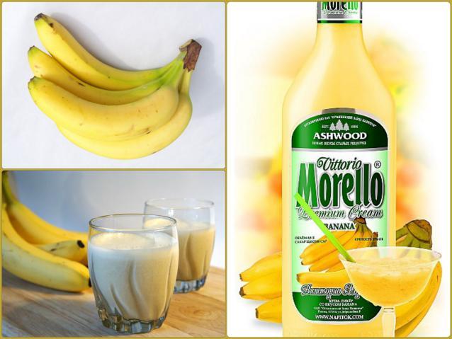 Домашний банановый ликер