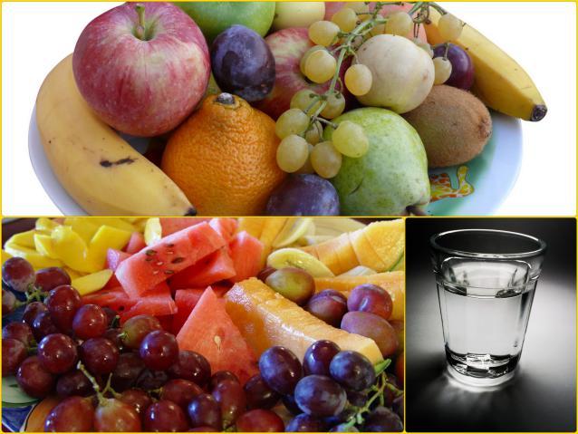 Фрукты отлично подойдут на закуску к водке