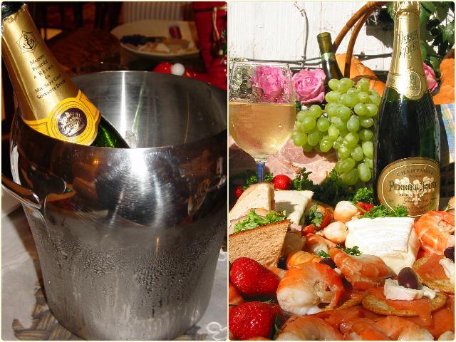 Чем закусывают шампанское? - подойдут фрукты и морепродукты