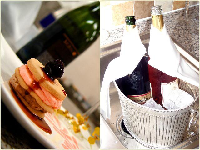 Что подают к шампанскому?