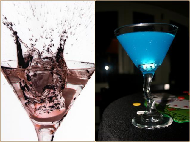 С чем принято пить мартини?