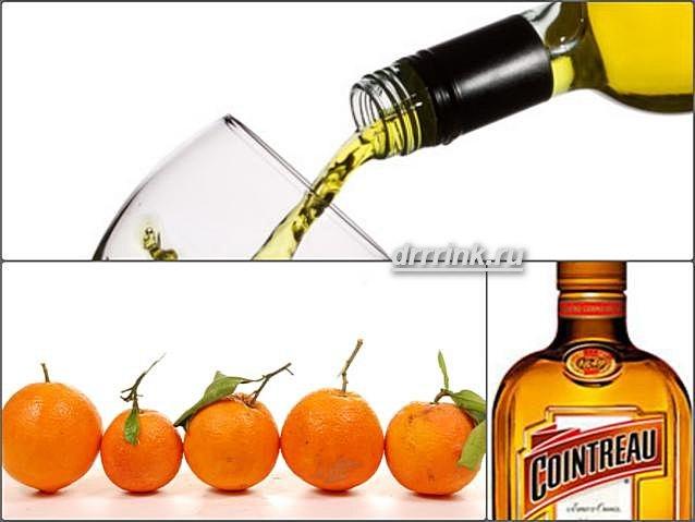 Домашний апельсиновый ликер типа Куантро