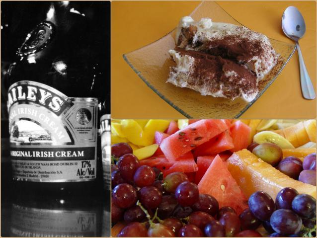 С чем пьют Бейлиз? Ликер удивительно хорошо сочетается с фруктами и десертом тирамиссу