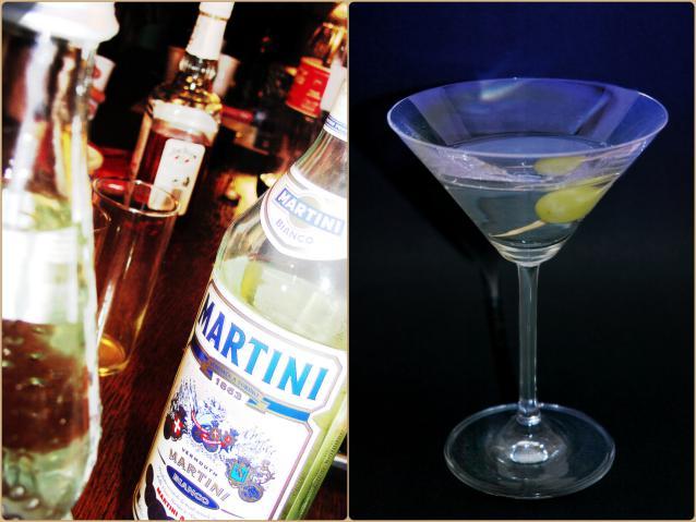 С чем пьют мартини?