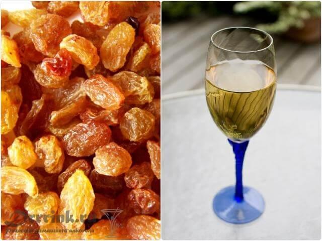 Рецепт вина из изюма