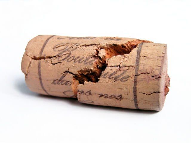пробка от бутылки с вином